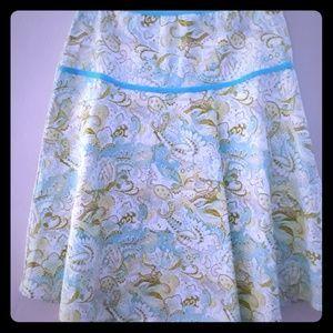 Pastel Paisley Skirt